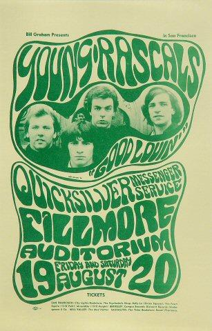 The Young Rascals Handbill