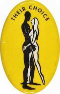 Their Choice Vintage Pin