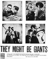 They Might Be Giants Promo Print