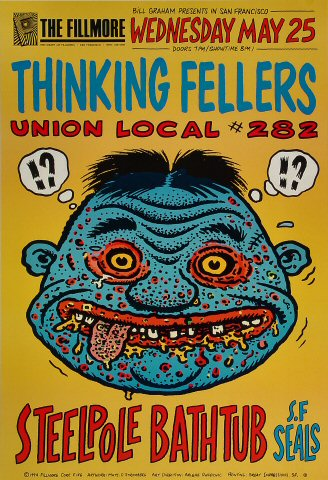 Thinking Fellers Union Local #282 Poster