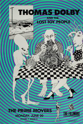 Thomas Dolby and the Lost Toy People Poster