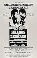 "Thomas ""Hitman"" Hearns Poster"