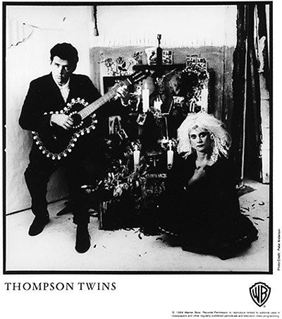 Thompson TwinsPromo Print
