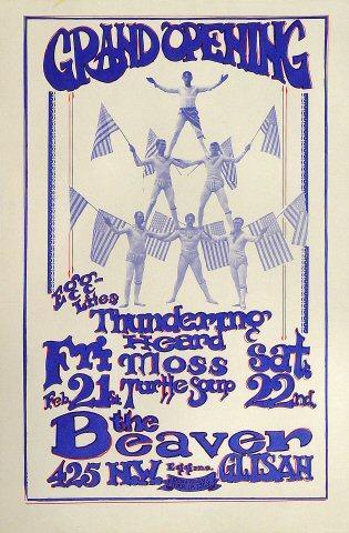 Thundering Heard Poster