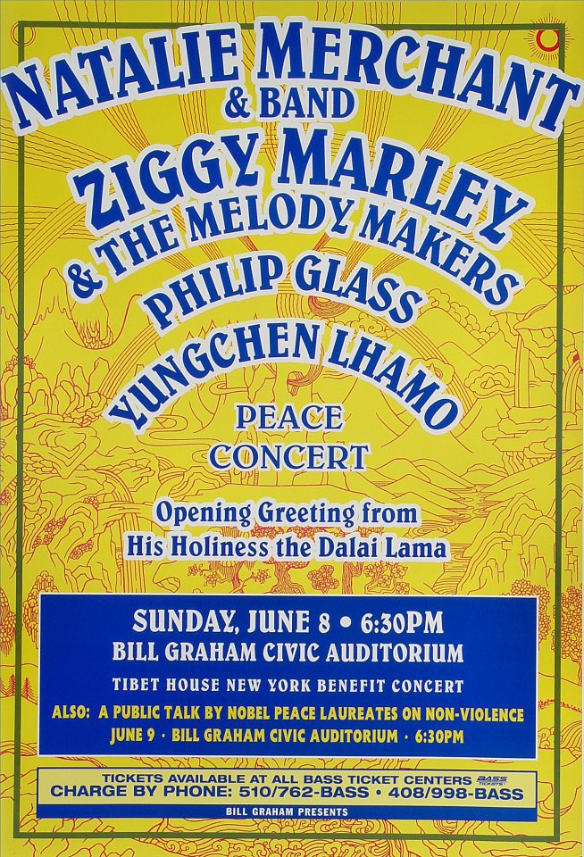 Tibet House New York Benefit Concert Poster