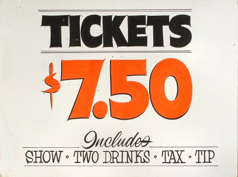 Tickets Poster