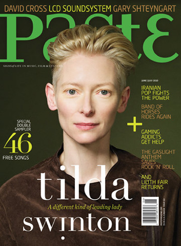 Tilda Swinton Paste Magazine