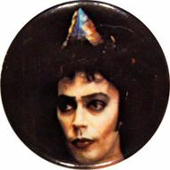 Tim Curry Vintage Pin
