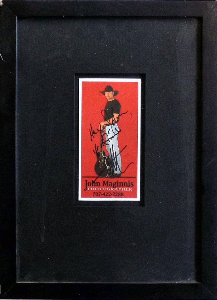 Tim McGraw Handbill