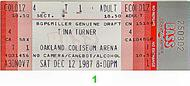 Tina Turner 1980s Ticket