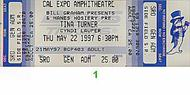 Tina Turner 1990s Ticket