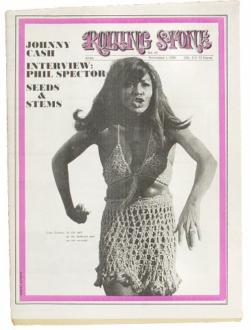 Tina TurnerRolling Stone Magazine