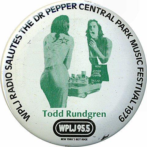 Todd RundgrenVintage Pin