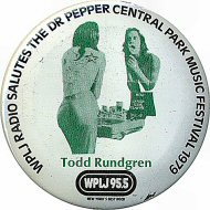 Todd Rundgren Vintage Pin
