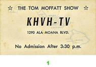 Tom Moffatt Pre 1960s Ticket