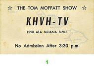 Tom Moffatt Pre 1960s Ticket
