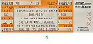 Tom Petty & the Heartbreakers 1980s Ticket