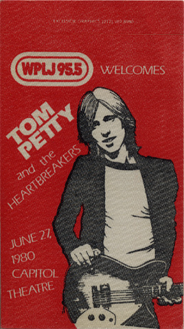 Tom Petty & the Heartbreakers Backstage Pass