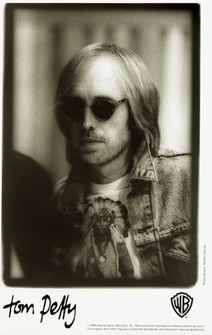 Tom Petty Promo Print