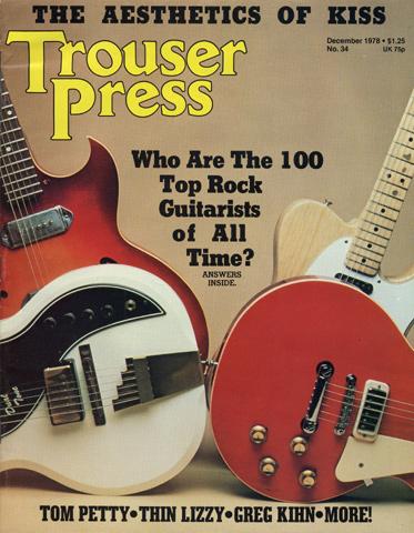 Tom PettyTrouser Press Magazine