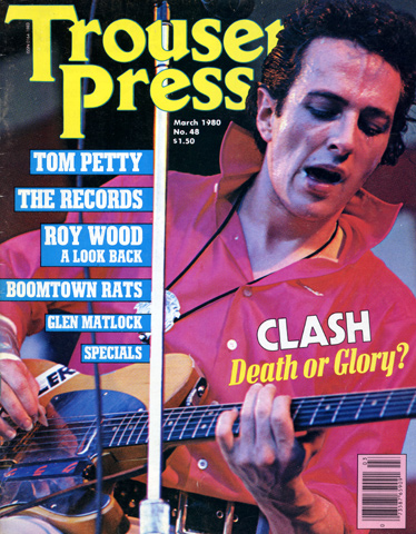 Tom Petty Trouser Press Magazine