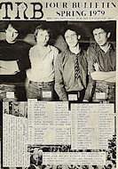 Tom Robinson Band Program
