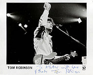 Tom Robinson Promo Print
