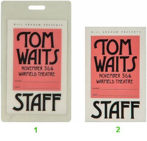 Tom Waits Laminate