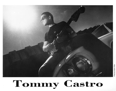 Tommy CastroPromo Print