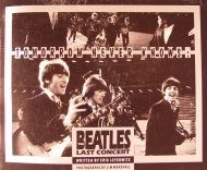 Tomorrow Never Knows: The Beatles Last Concert Book