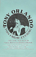 Tony Orlando Handbill