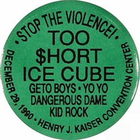 Too Short Vintage Pin