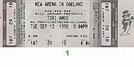 Tori Amos 1990s Ticket