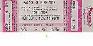 Tori Amos 1990s Ticket