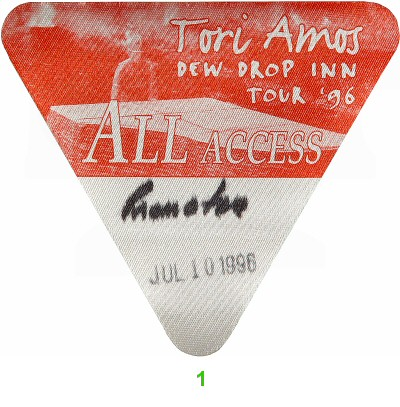 Tori Amos Backstage Pass