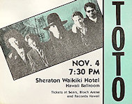 Toto Handbill