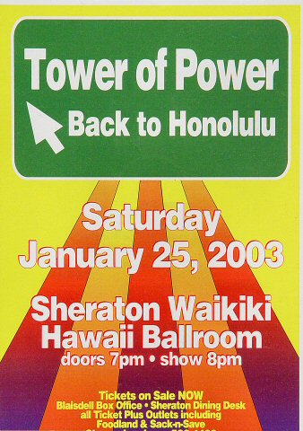 Tower of Power Handbill