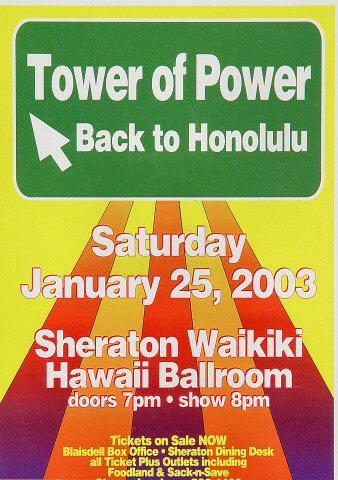 Tower of PowerHandbill