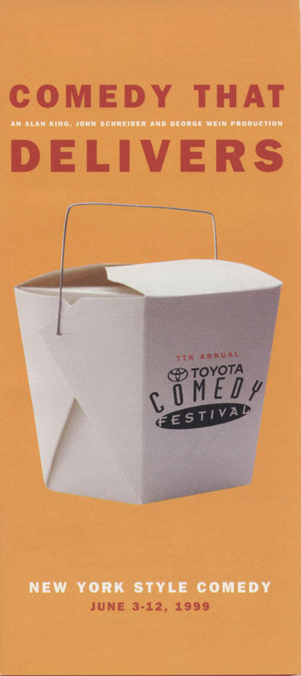 Toyota Comedy Festival Program