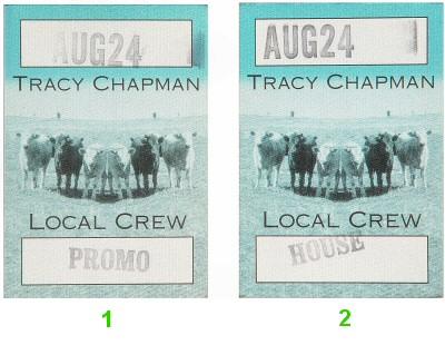 Tracy ChapmanBackstage Pass