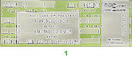 Tom Petty Vintage Ticket