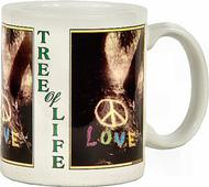 Tree of Life Vintage Mug