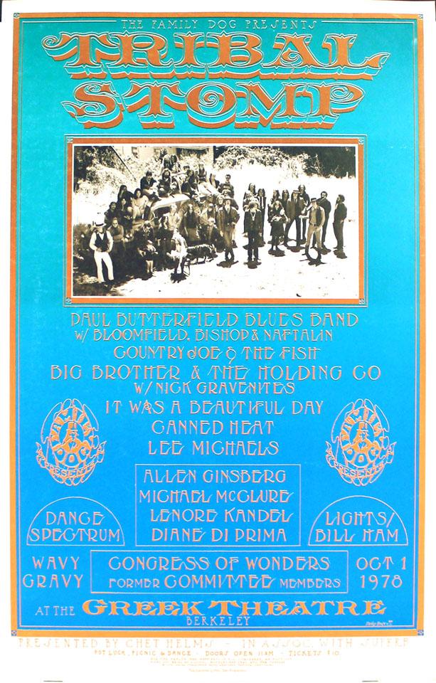 Tribal Stomp Poster