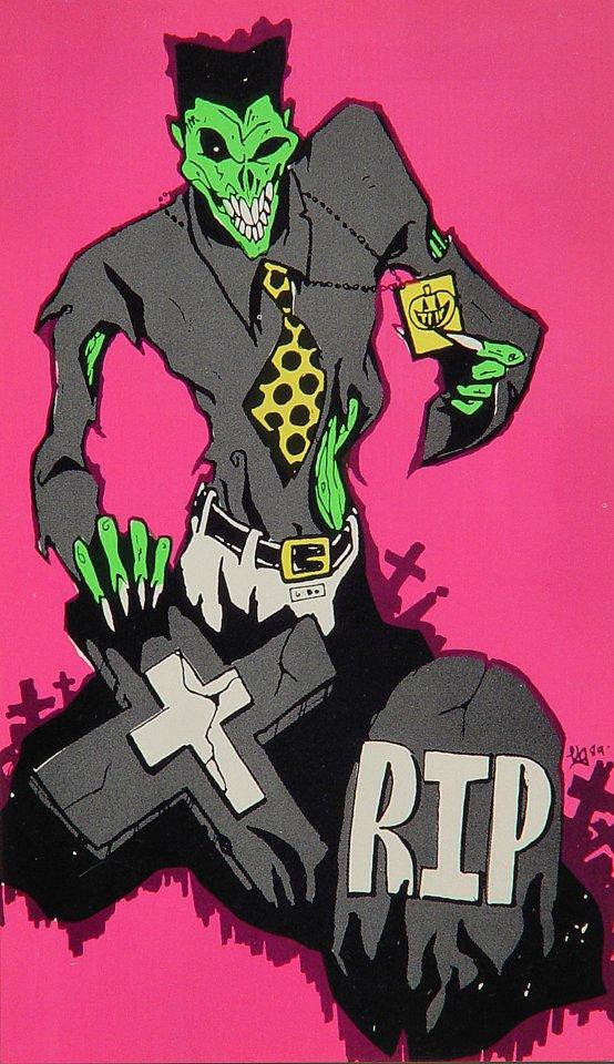 Trip Halloween Fest Handbill