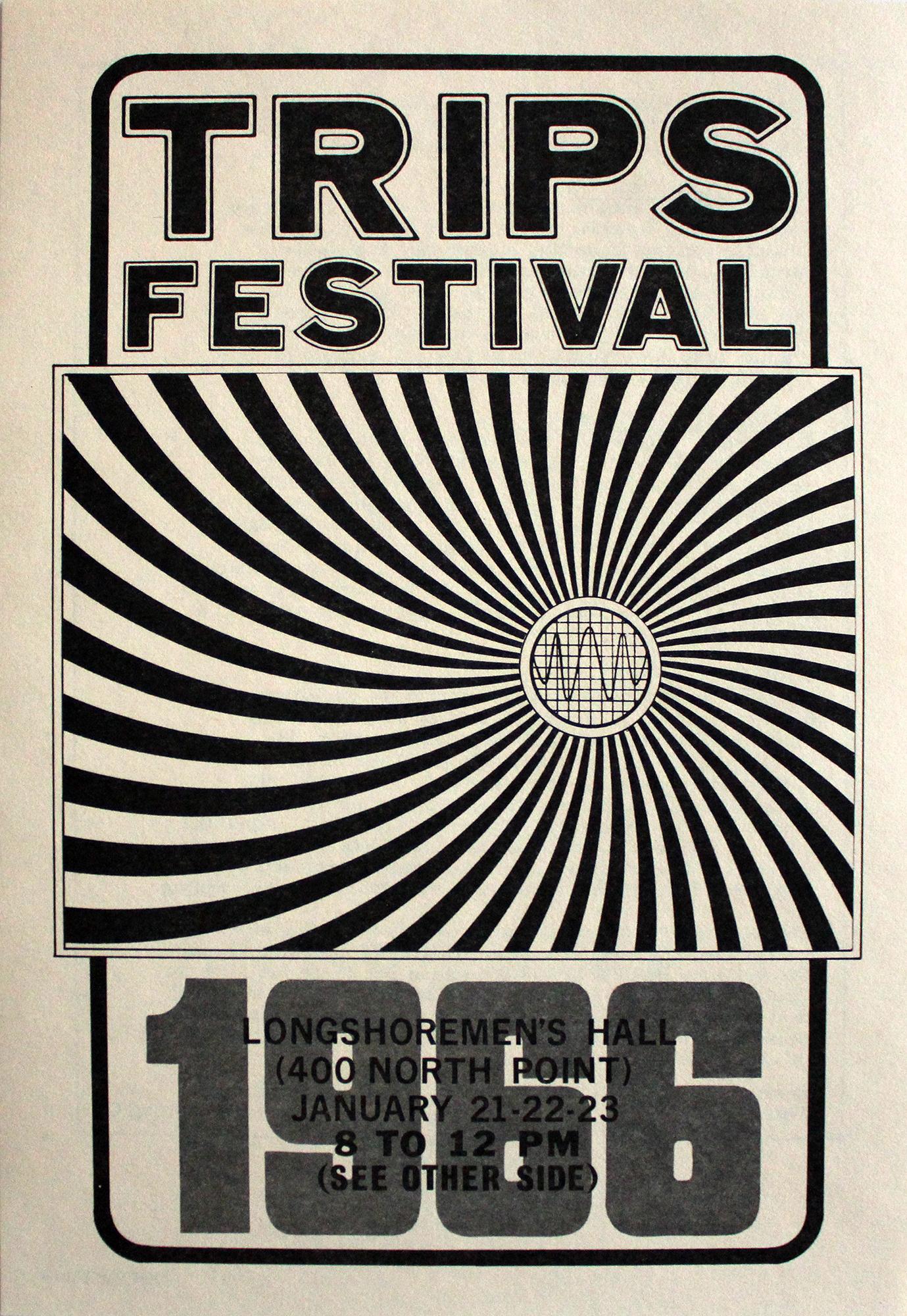Trips Festival Handbill