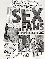 Tupelo Chain Sex Handbill