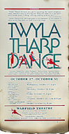 Twyla Tharp Dance Poster