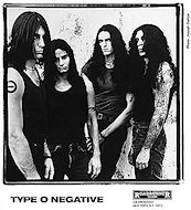 Type O Negative Promo Print