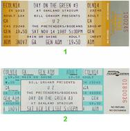 U2 1980s Ticket