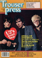 U2 Trouser Press Magazine